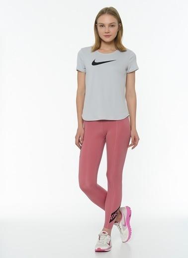 Nike Nike CU4652614 W Np Tıght 7/8 Pp3 Trompe L Desert Berry Black Tayt Pembe